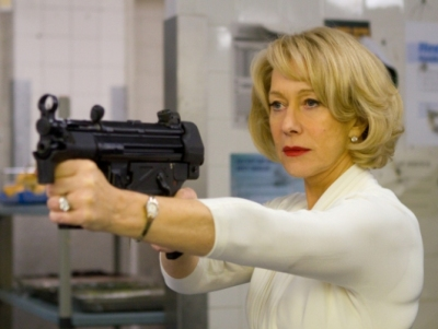 7--year-old Dame Helen Lydia Mirren in the movie RED.