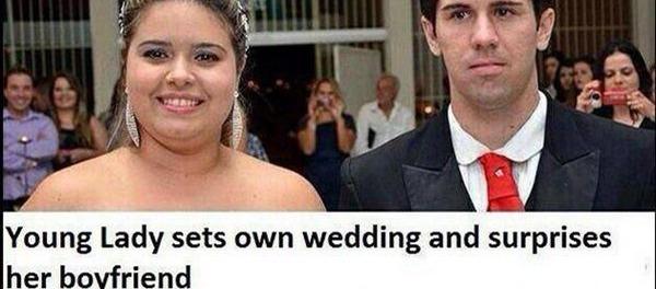 Marriage bride groom clarice james surprise wedding junglespirit Gallery