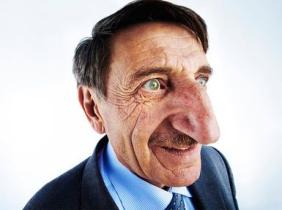 nose man